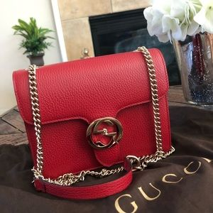 Handbags - 🛑SOLD🛑 Authentic Gucci leather gg crossbody